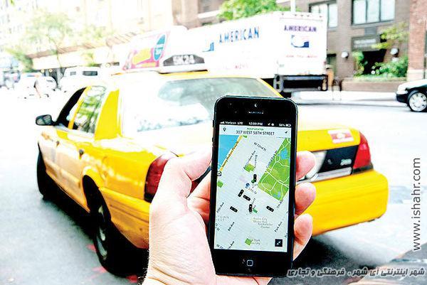 رانندگان تاکسی های اینترنتی قربانی شدند!