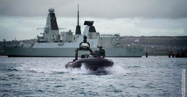 قایق تندروی خودران جنگی