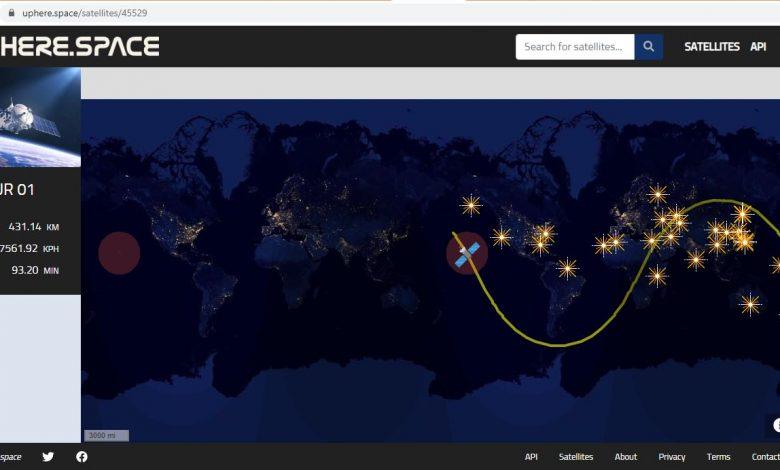 ماهواره نور را آنلاین دنبال کنید!